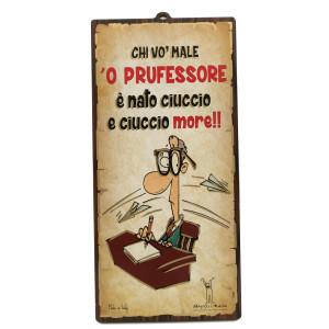 TARGA MDF PROFESSORE