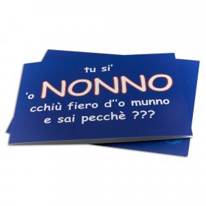 BIGLIETTO AUGURI P' O'NONNO