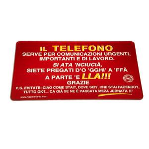 TARGA TELEFONO
