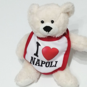 Orsetto peluche I love Napoli