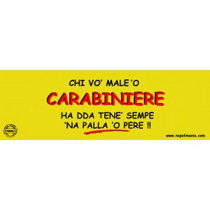 TARGA CARABINIERE