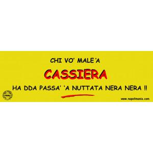 TARGA CASSIERA