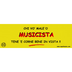 TARGA MUSICISTA