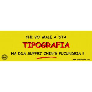 TARGA TIPOGRAFIA